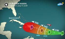 Alerte: Maria devient ouragan et pourrait avoir Haïti dans ses rayons