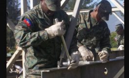 Irma, le Corps du Génie Militaire de l'Armée d'Haïti mobilisé