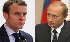 """Macron à Poutine : il faut """"intensifier"""" la concertation sur la Syrie"""