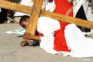 Le « Chemin de la croix » à Port-au-Prince…
