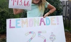 Une fille de 11 ans vend de la limonade pour aider Haïti