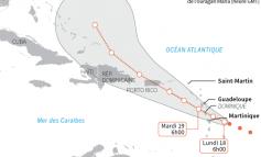Maria: La Martinique placée en alerte cyclonique maximale