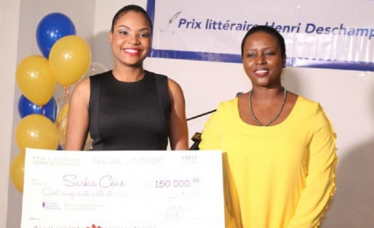 Saïka Céusa reçu le prix littéraire Henry Deschamps 2017