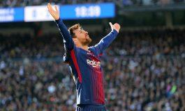Lionel Messi 34 Real Madrid 20