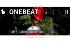 Les inscriptions pour le programme «OneBeat 2018» sont maintenant ouvertes