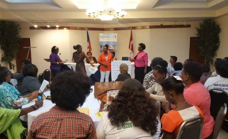 ONU Femmes : « Combattre les violences faites aux femmes dans les processus électoraux en Haïti »