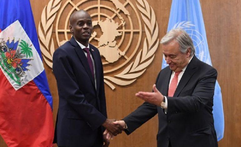 Echange fructueux entre le Président de la République et le Secrétaire Général de l'ONU