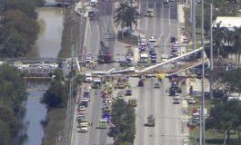"""Floride : """"plusieurs morts"""" dans l'effondrement d'un pont piétonnier à Miami"""