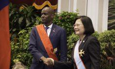 Jovenel Moïse est entré dans l'ordre du Brillant Taïwanais