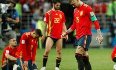 La sélection espagnole ne s'en est pas sortie face à la Russie