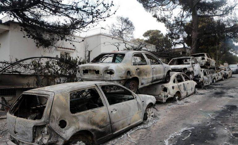 79 morts et plusieurs disparus en Grèce