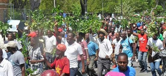 Challenge Pétrocaribe : Port-au-Prince a assisté à sa deuxième mobilisation de rue
