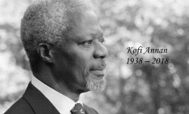 [URGENT] : Kofi Atta Annan, Ancien Secrétaire Général des Nations-Unies, est mort
