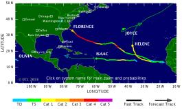Le cyclone Isaac frappera les Antilles ce jeudi