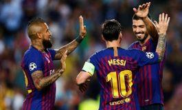 Le Barça écrase le PSV Eindhoven avec un Messi puissance 3