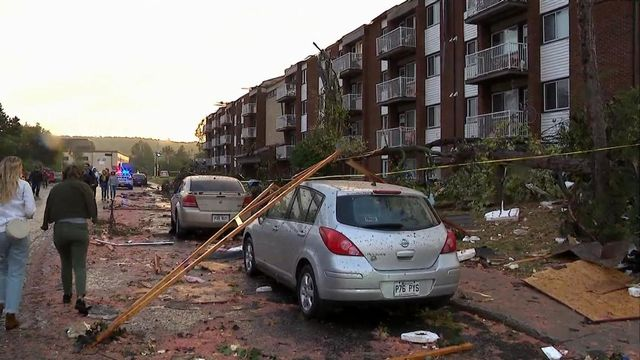 La tornade au Québec et ses importants dommages