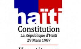 Sur fond de divergence, Haïti commémore le 34-ème anniversaire de la constitution du 29 mars de 1987