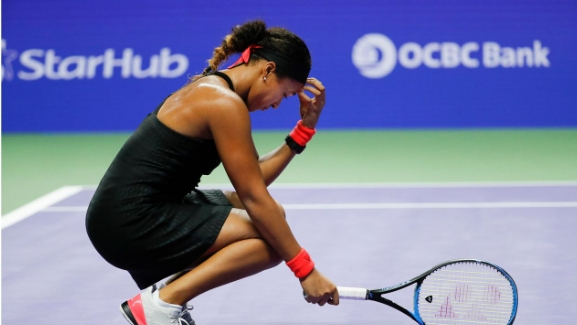Masters féminin: Ça se complique pour Naomi Osaka