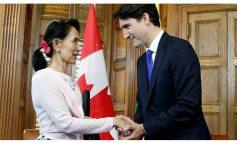 La nationalité d'honneur d'Aung San Suu Kyi a été retirée par le parlement canadien