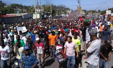 Mega-manifestation à Port-au-prince contre la dilapidation des fonds Pétrocaribe