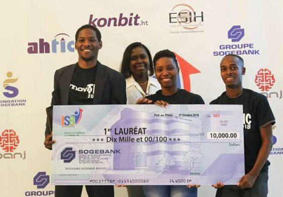 """Concours Innovatic 2018 : Le projet d'app """"Kit aprann"""" remporte le premier prix"""