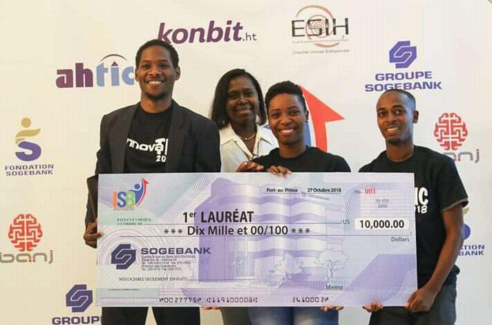 Concours Innovatic 2018 : Le projet d'app «Kit aprann» remporte le premier prix