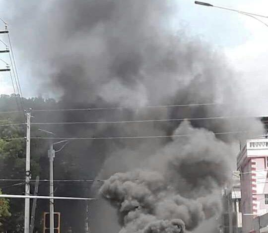 Mobilisation populaire : la ville des Cayes en effervescence