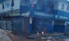 Grande-Anse : incendie au commissariat de Beaumont