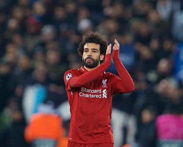 Mohamed Salah élu ballon d'Or africain 2018