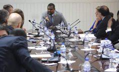 Réunion entre le président Gary Bodeau et une délégation de haut niveau des Nations-Unies