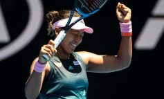 Naomi Osaka en quarts de finale de l'Open d'Australie