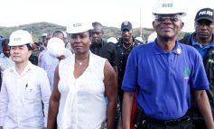 Port-de-paix : lancement des travaux de construction de l'hôpital OFATMA