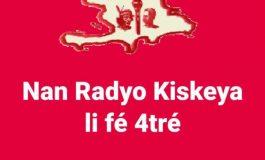 "Le ""jounal katrè"" de Radio Kiskeya sur Métropole ce 7 février"