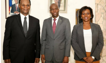 Haïti-Crise: Jovenel Moïse s'est entretenu avec Boniface Alexandre