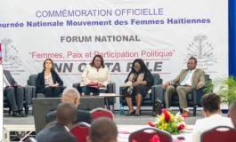 Célébration de la journée nationale du mouvement de la femme haïtienne