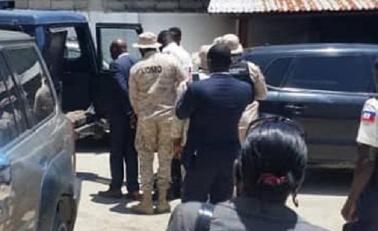 Arrestation du délégué départemental du Nord, Antonio Jules