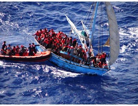 Des voyageurs clandestins haïtiens capturés par la marine dominicaine