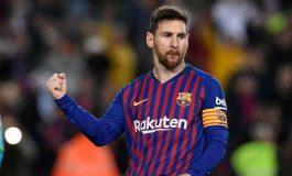 Lionel Messi en tête du classement des sportifs les mieux payés en 2019