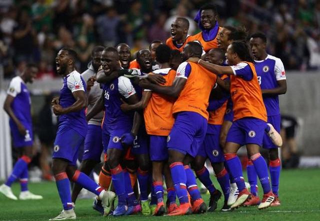 Haïti, expert en remontada dans l'actuelle Gold Cup