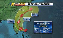 Ouragan Dorian: une grande menace pour les Bahamas et la Floride
