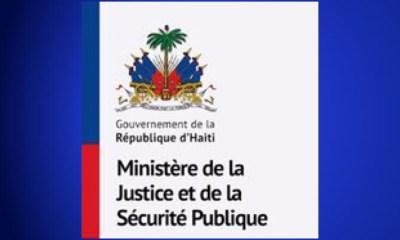 Justice : Démission et nomination immédiate