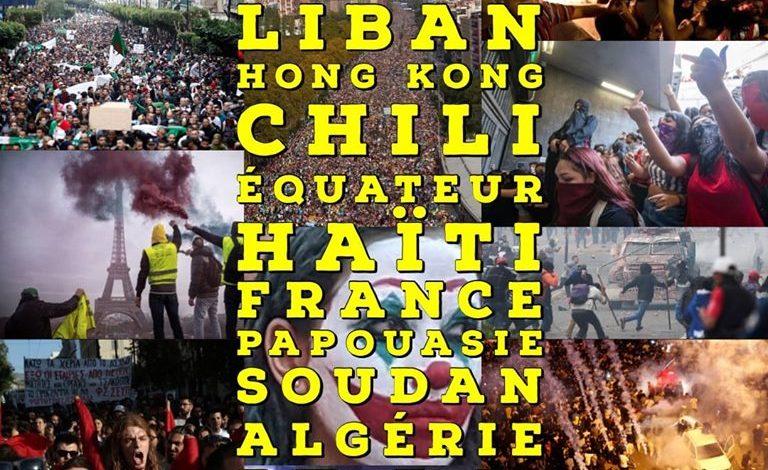 L'ébullition du monde au mois d'octobre: Du Chili en passant par Haïti jusqu'au Liban