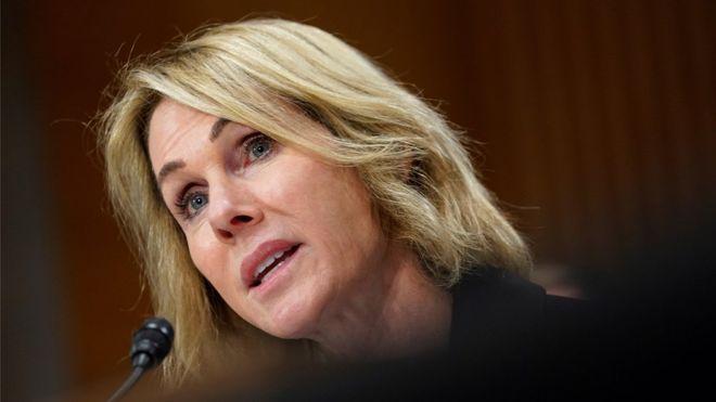 L'opposition remet l'accord Marriott à Kelly Craft