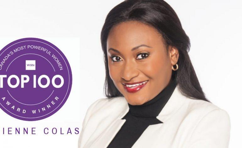 Fabienne Colas l'une des 100 Femmes les plus influentes au Canada en 2019