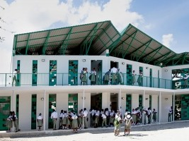 Haïti remporte le prix de Durabilité à l'International Structural Awards 2019