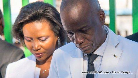 Le couple présidentiel en deuil