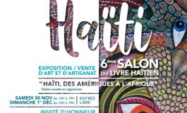 A la rencontre de la 6ème édition du salon du livre Haïtien à Paris