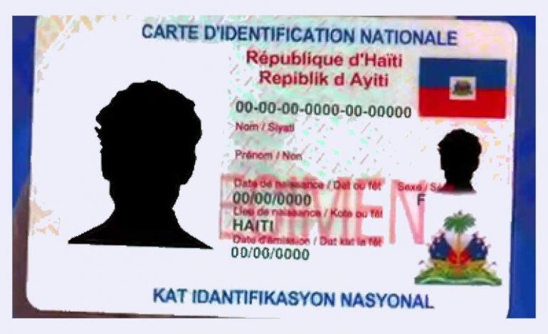 L'ONI dans l'impasse, pour la livraison de la nouvelle carte d'identification