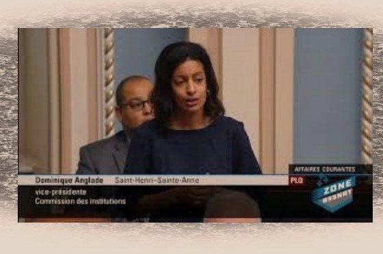 Séisme en Haïti: Dominique Anglade bouleverse les parlementaires