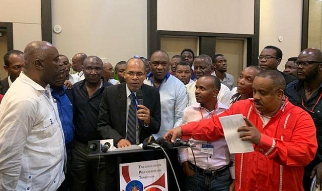 Haïti: L'opposition se rapproche officiellement de Jovenel Moise
